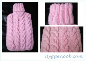 Hot Water Bottle Covers   Six to Knit   Grandmothers Pattern Book