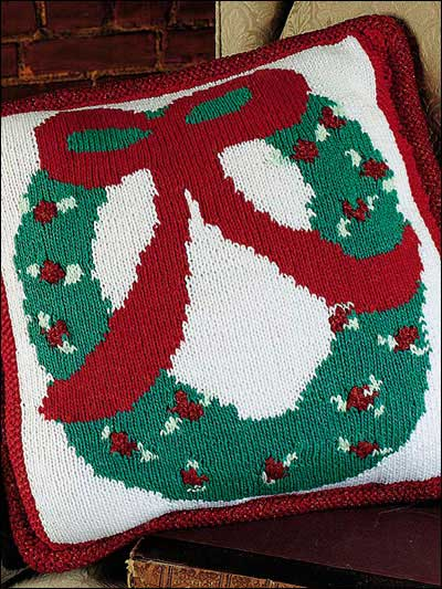 Quick Gifts   Christmas Pillows   free patterns to knit and crochet   Grandmo...