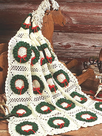 Christmas in July - more Christmas Afghans to Crochet ...