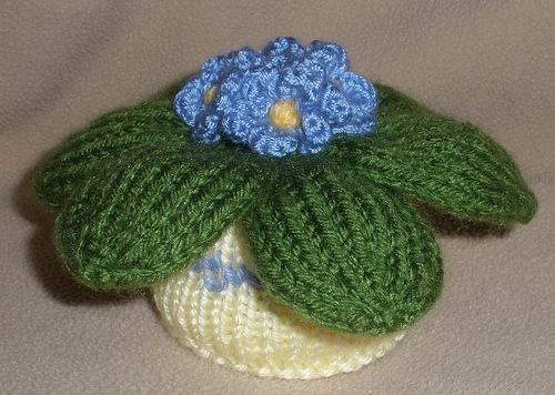 More House Plants to Knit and Crochet   free patterns   Grandmothers Pat...